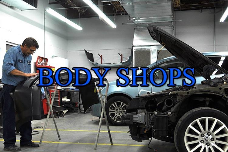 Body Shops Vanity Phone Numbers