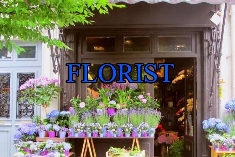 Florist Vanity Phone Numbers