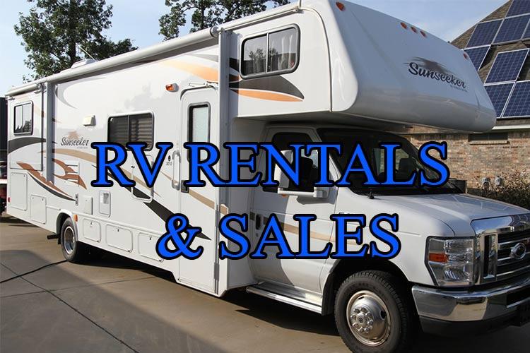 RV Rentals & Sales Vanity Phone Numbers